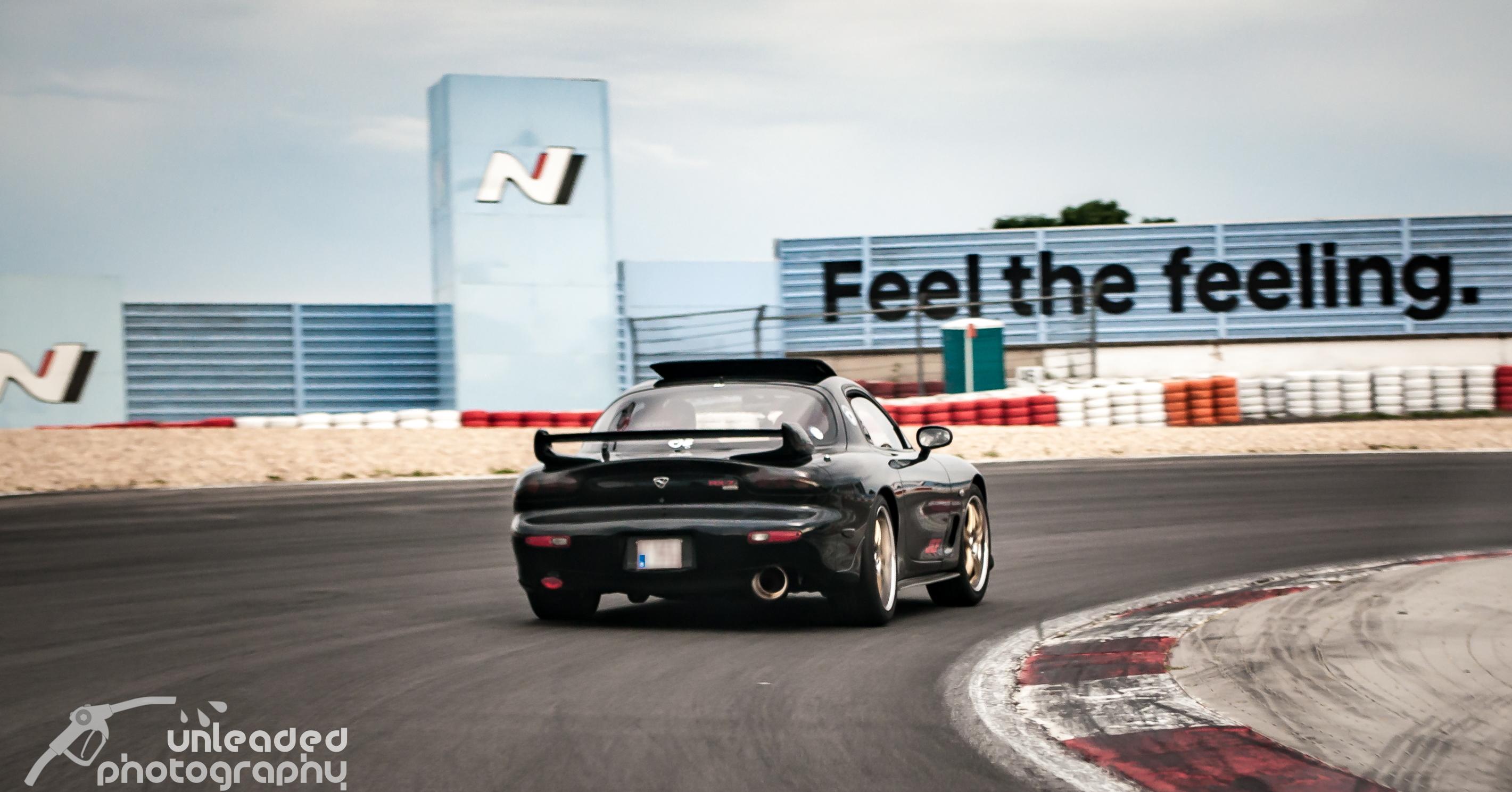 Tim's Black RX-7 FD3S @ Nürburgring on track